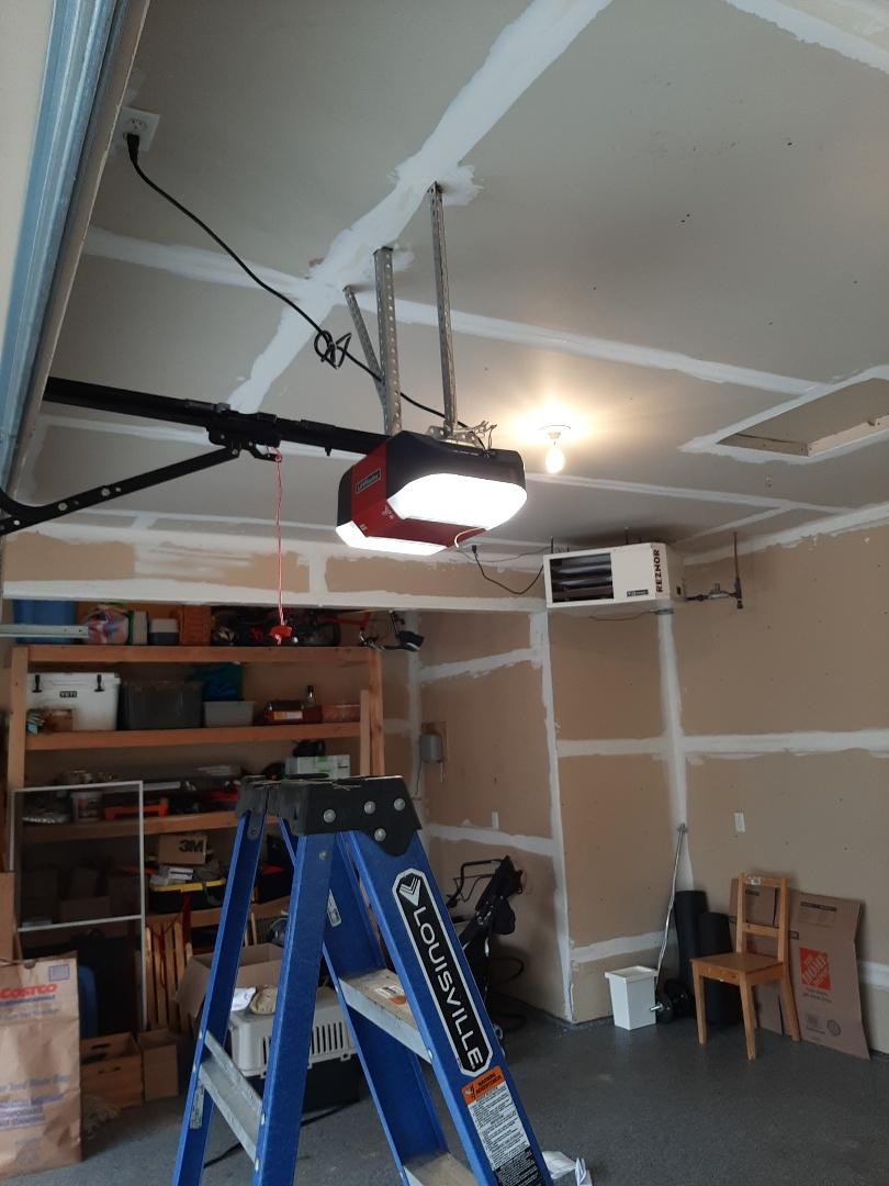 Stillwater, MN - Jeremy installed new garage door opener