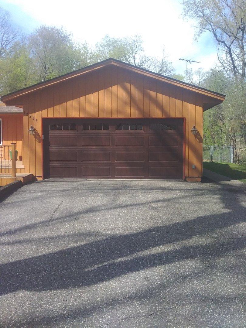 Hopkins, MN - Garage door replacement