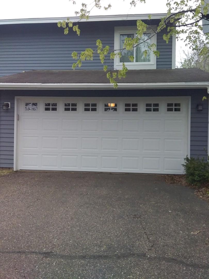 Shoreview, MN - Garage door replacement