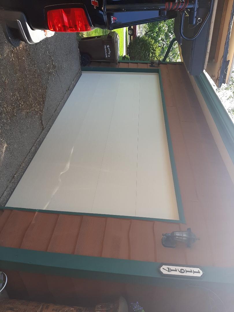 Champlin, MN - Jeremy installed new garage door