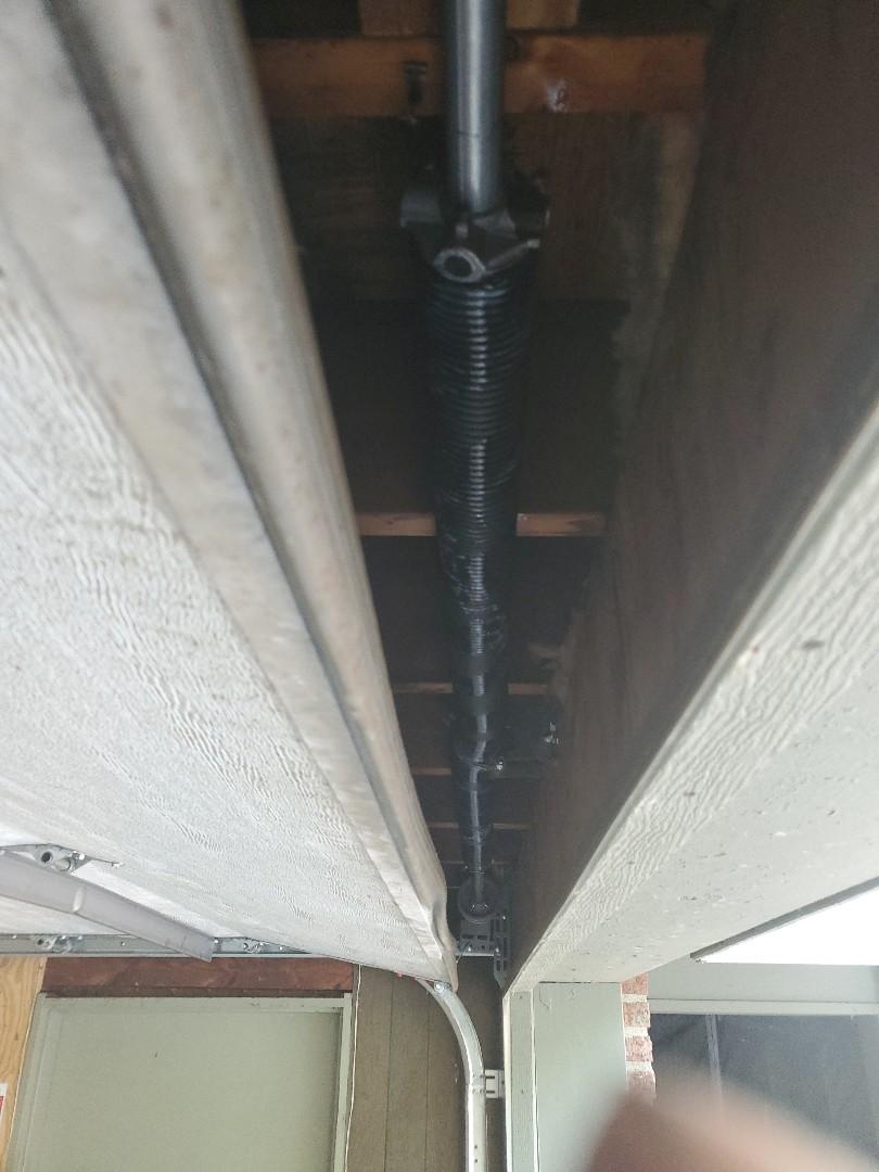 New Brighton, MN - Garage Door Service garage door repair broken spring replacement New Brighton Minnesota