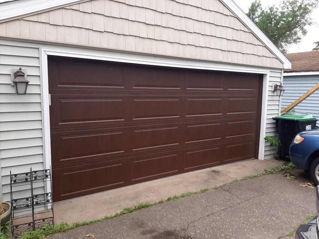 New Brighton, MN - Jeremy installed new garage door