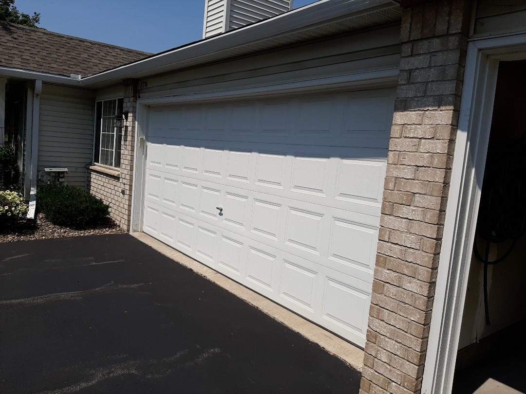 Burnsville, MN - Jeremy installed new garage door