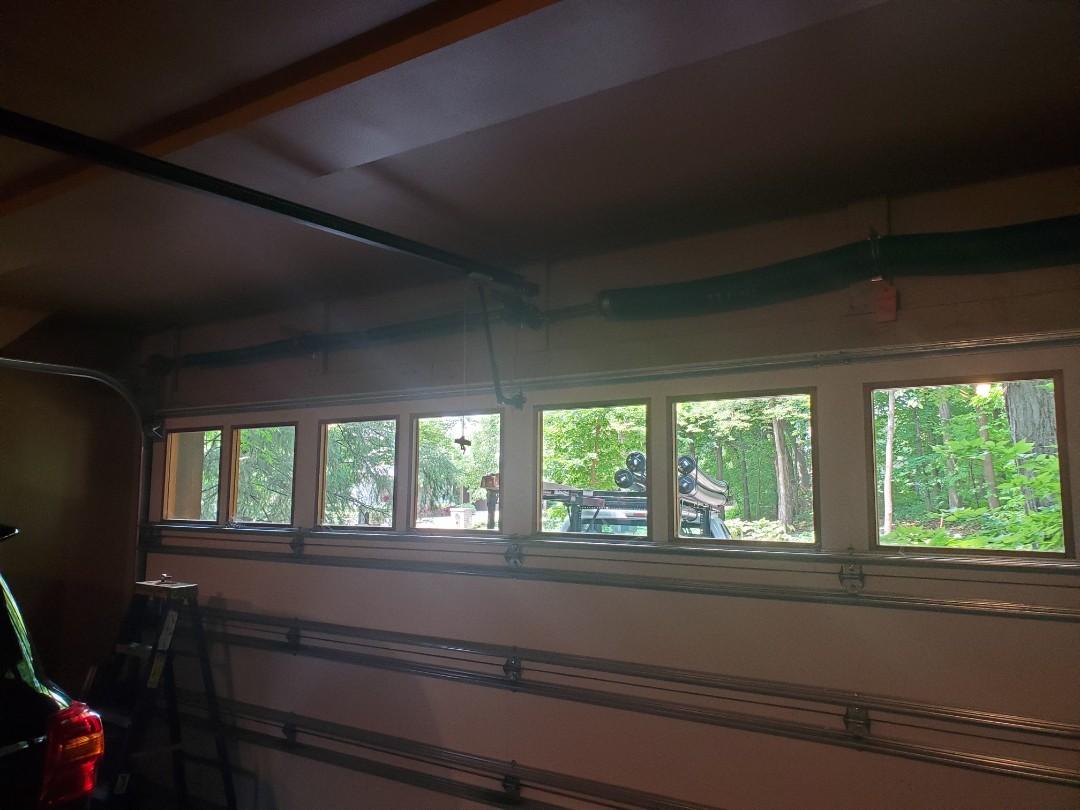 Wayzata, MN - Residential commercial Garage Door Service broken spring replacement