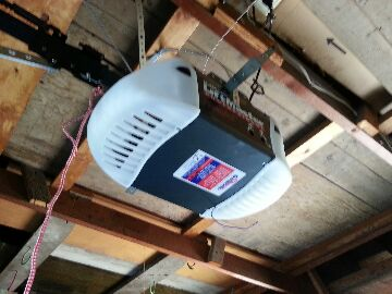 New Hope, MN - Josh installed a Liftmaster garage door opener in New Hope