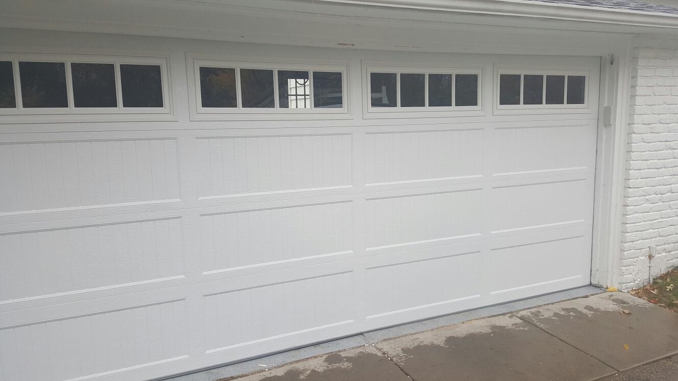 Saint Louis Park, MN - Jon installed North Central ARL 138 15x6'6 garage door