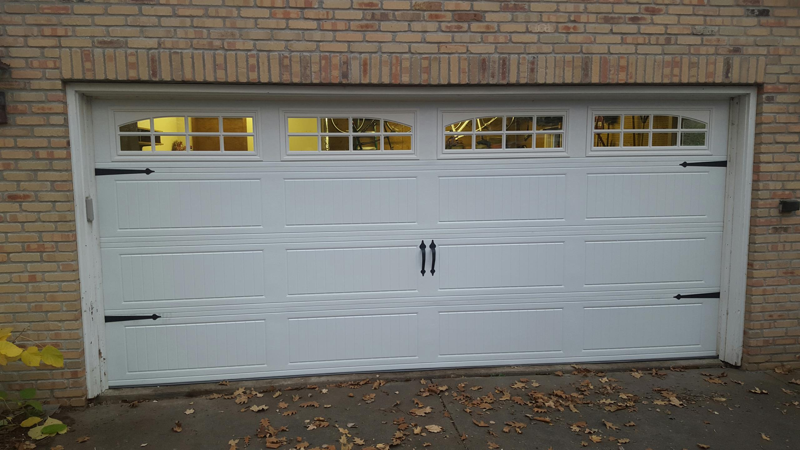 North Oaks, MN - Replaced a door and 8355 liftmaster