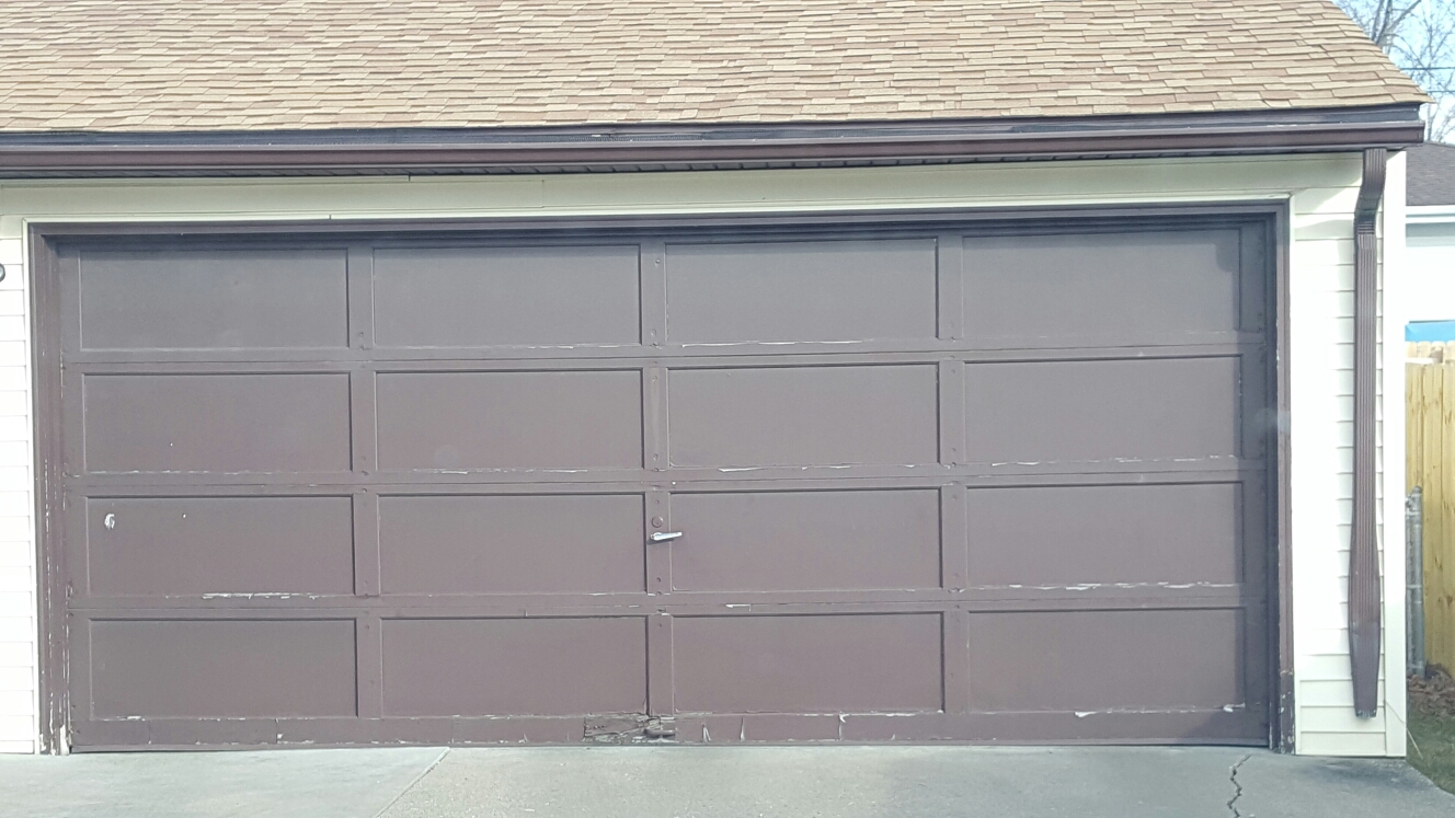 North Saint Paul, MN - Replacement garage door new garage door installation