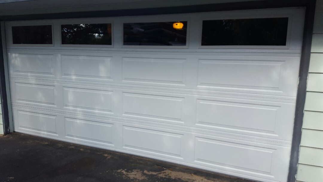 Circle Pines, MN - Jeremy installed 16 by 7 garage door