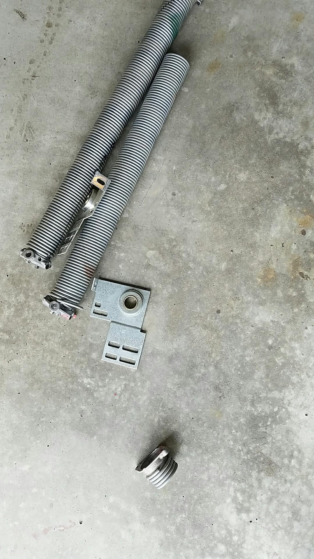 Watertown, MN - Replaced garage door Springs and end bearings