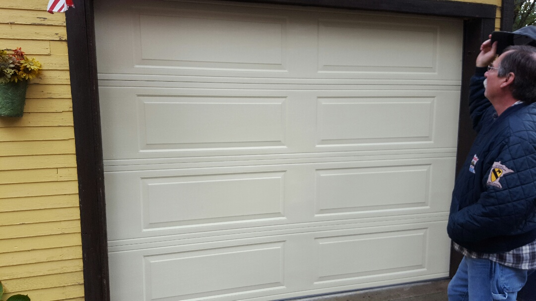 Mounds View, MN - Jeremy installed 9 by 7 garage door