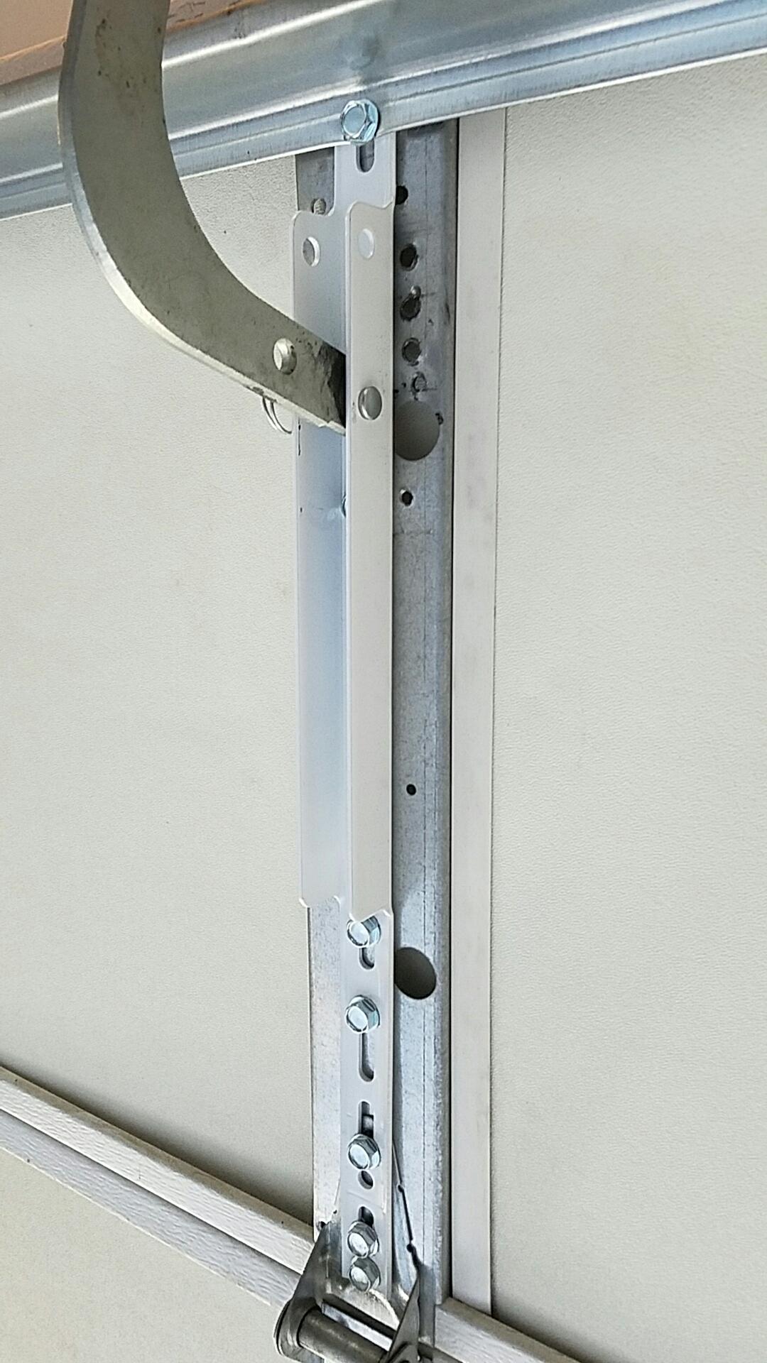 Hugo, MN - Replaced garage door opener bracket