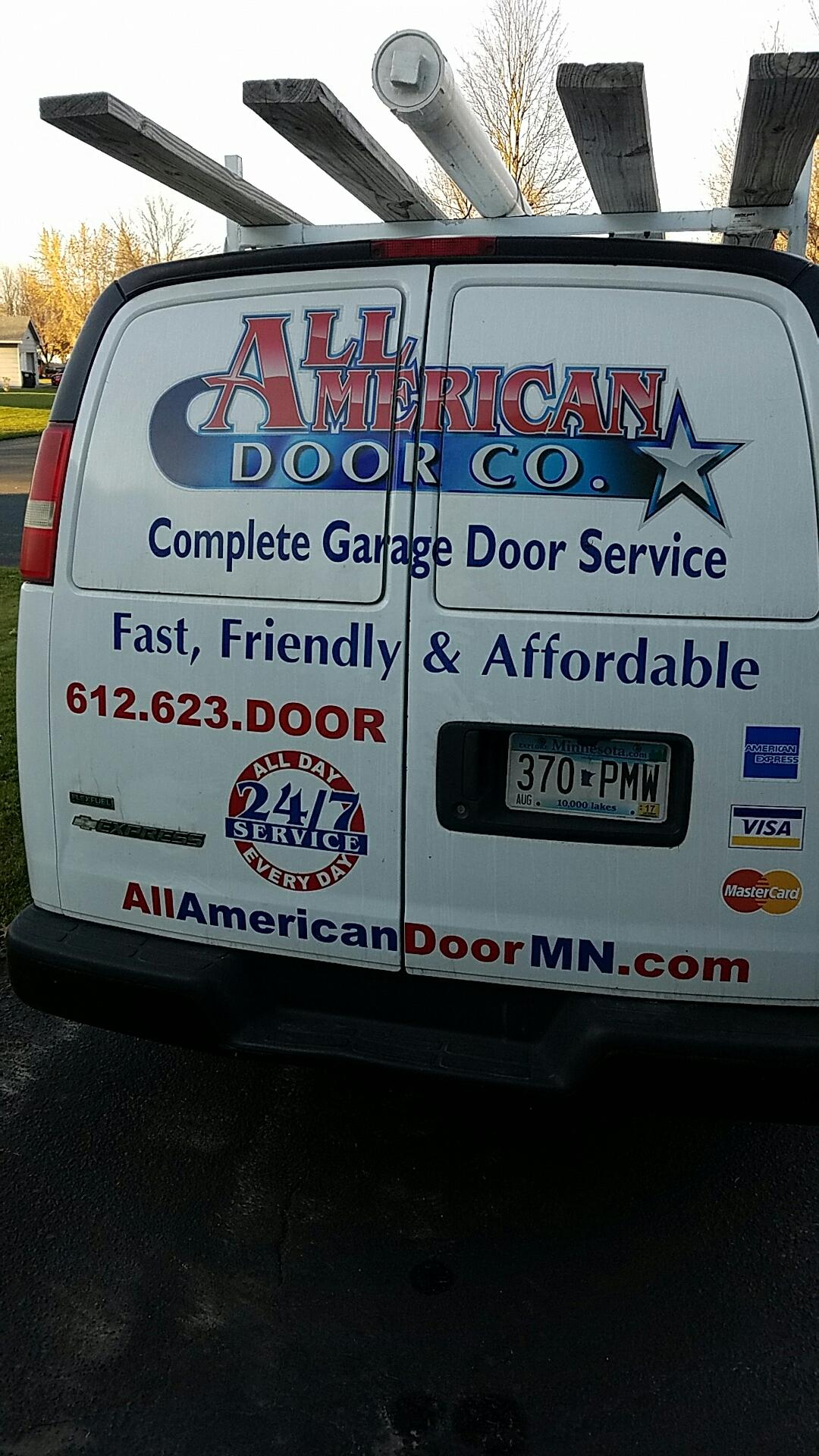Hugo, MN - Replaced garage door bottom seal