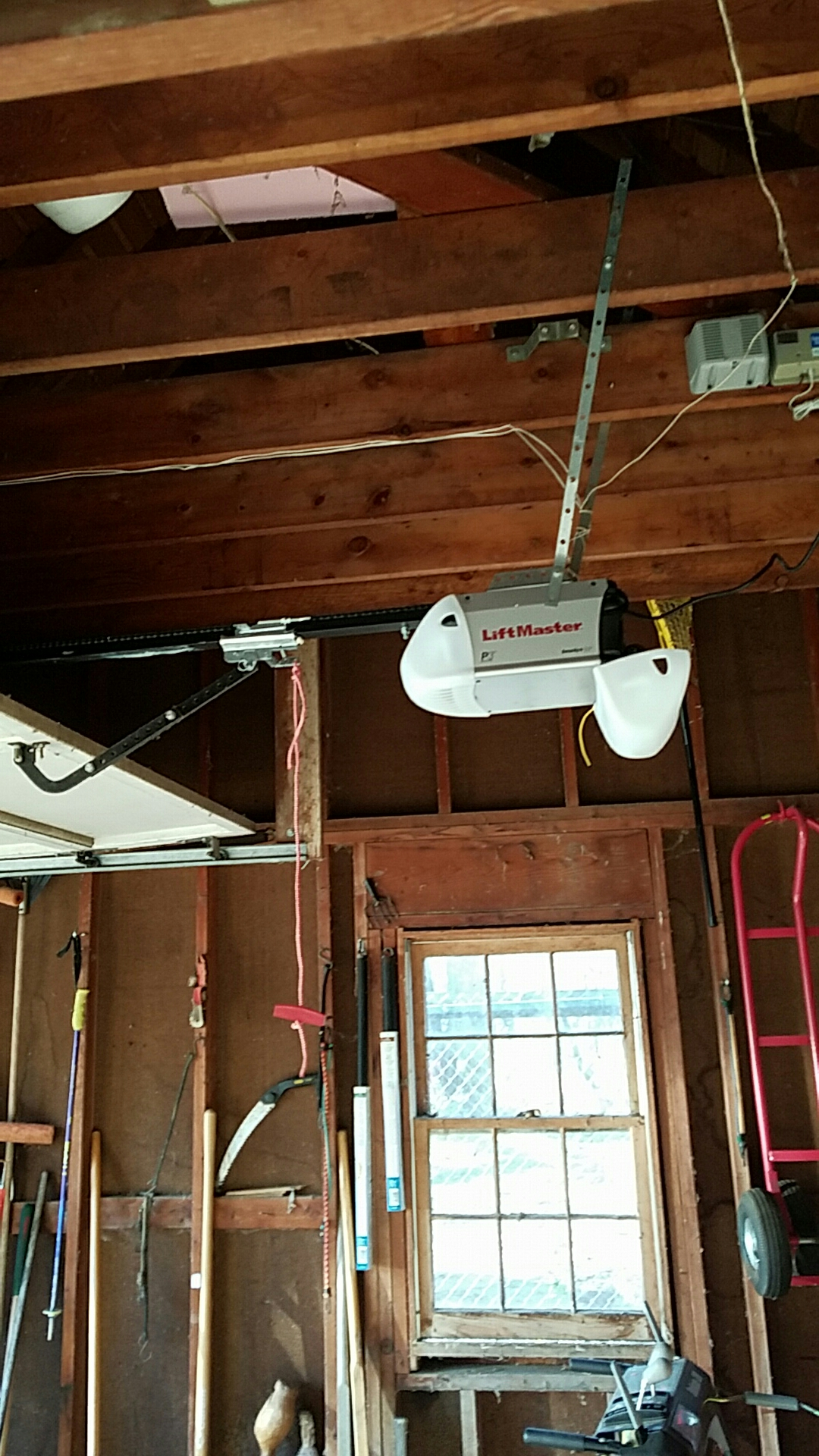Long Lake, MN - Replaced garage door opener with a new liftmaster