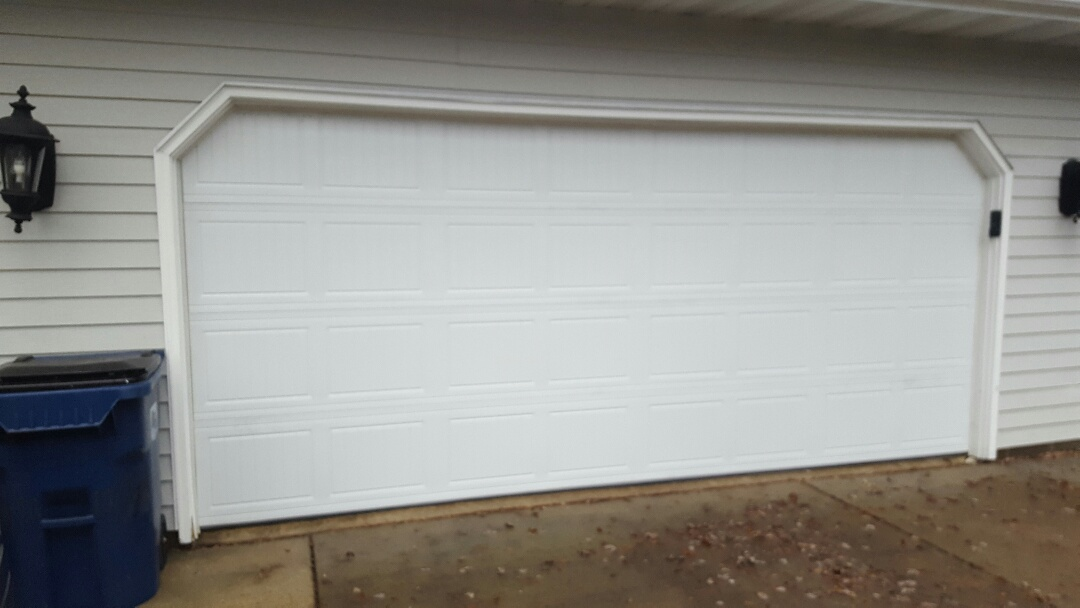 Vadnais Heights, MN - Jeremy installed 16 by 7 garage door