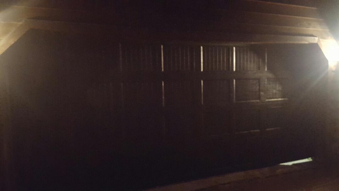 Forest Lake, MN - Jeremy installed 16 by 6.9 garage door and liftmaster garage door opener