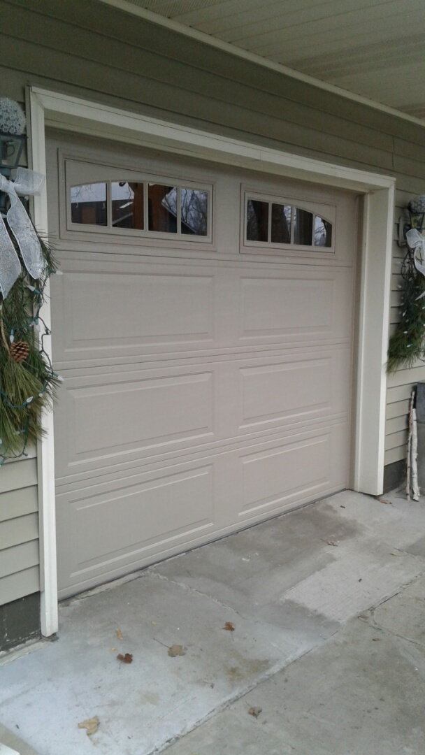 Long Lake, MN - Jon installed North Central LP25 9x7 Garage Door