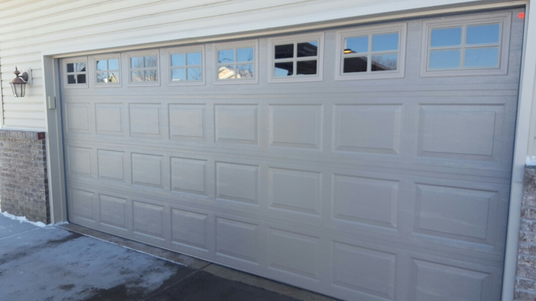 Forest Lake, MN - Jeremy installed 16 by 7 garage door