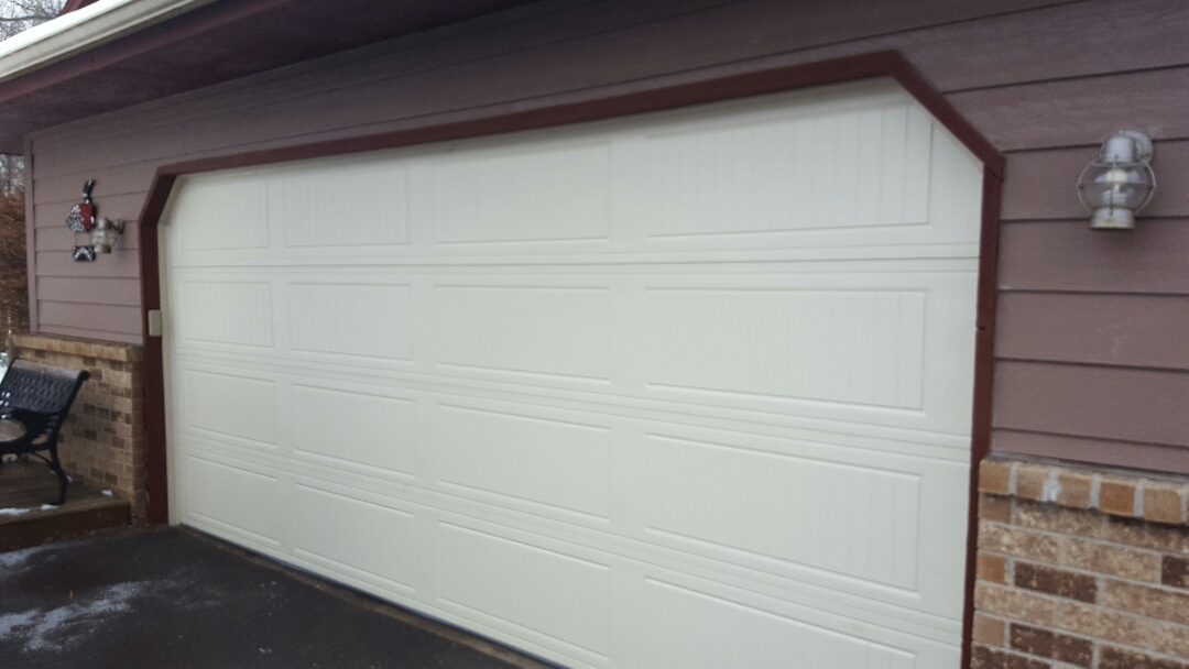 Centerville, MN - Jeremy installed 16 by 7 garage door