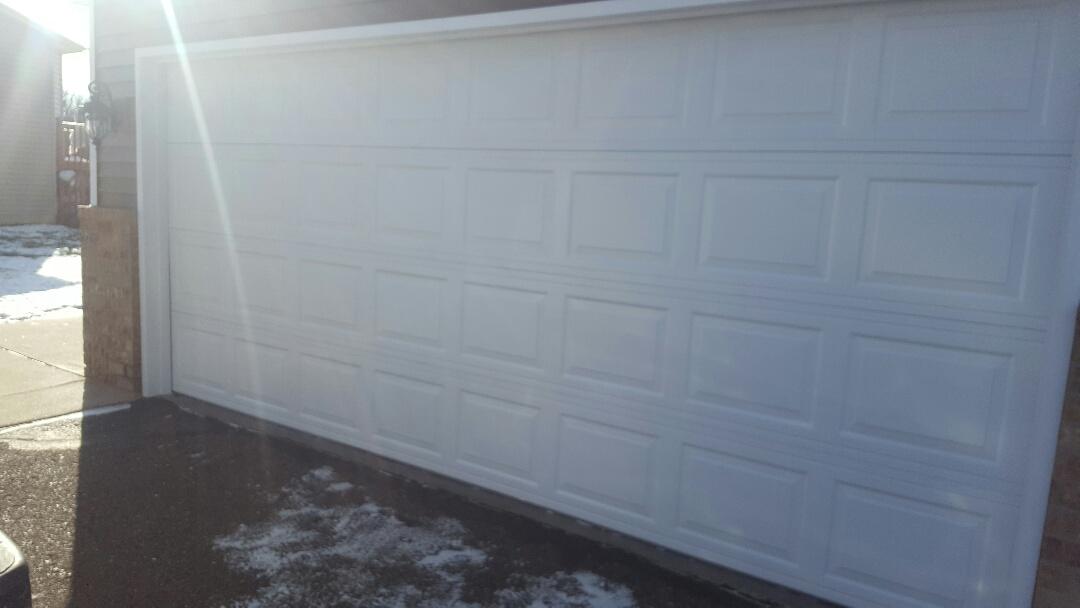 Champlin, MN - Jeremy installed 16 by 7 garage door