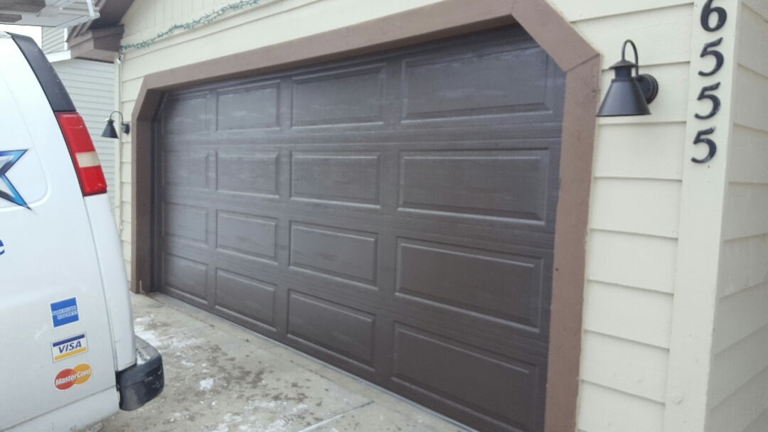 Chanhassen, MN - Jeremy installed 16 by 7 garage door and opener