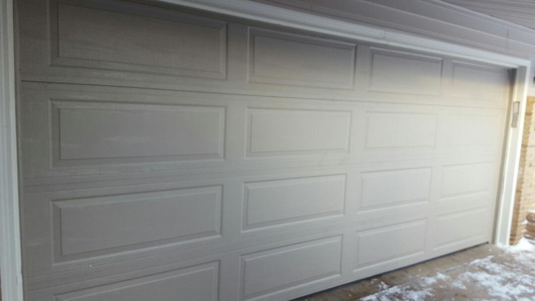Saint Louis Park, MN - Jeremy installed 16 by 7 garage door