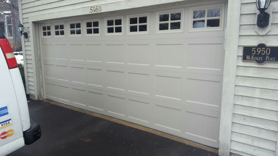 Excelsior, MN - Jeremy installed 16 by 7 garage door and opener