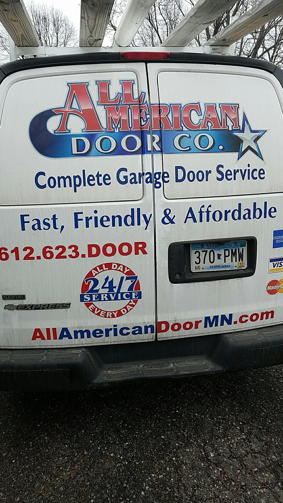 Brooklyn Center, MN - Did a garage door tune up