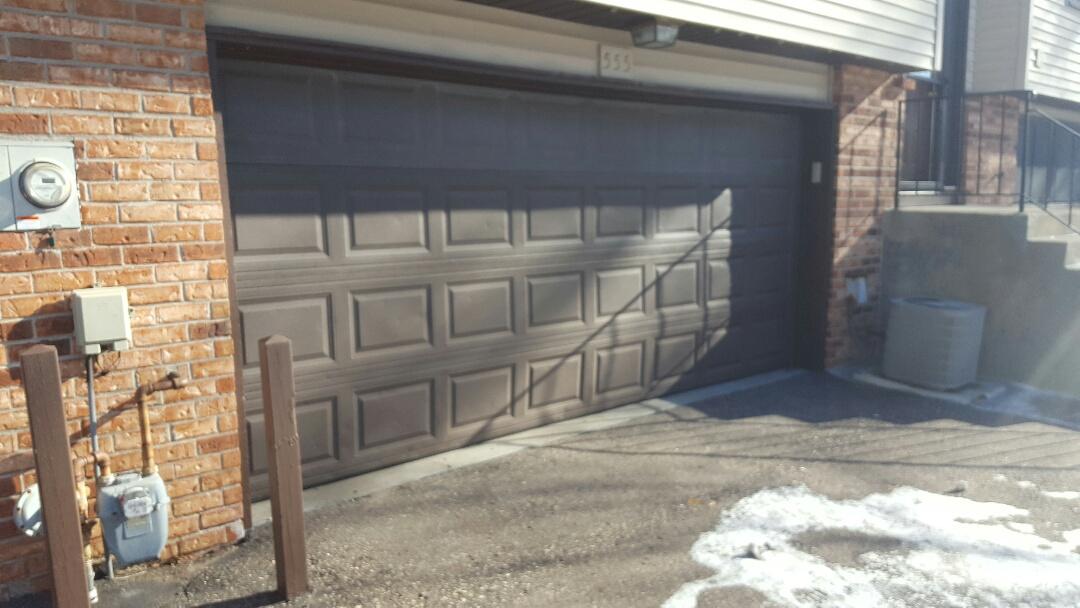 Blaine, MN - Jeremy installed 16 by 7 garage door