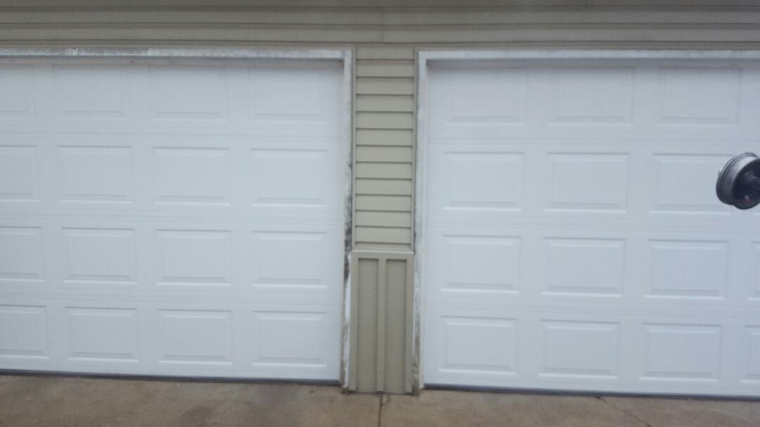 Champlin, MN - Jeremy installed 2 9 by 7 garage door