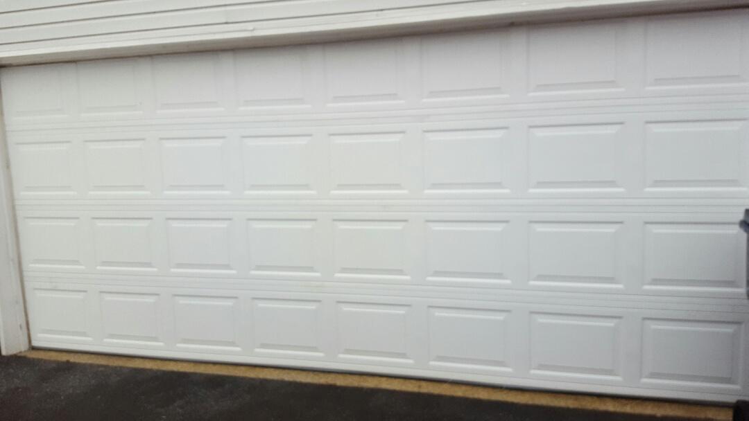 Savage, MN - Jeremy installed 16 by 7 garage door