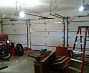 Savage, MN - Garage door tune-up roller replacement on three doors