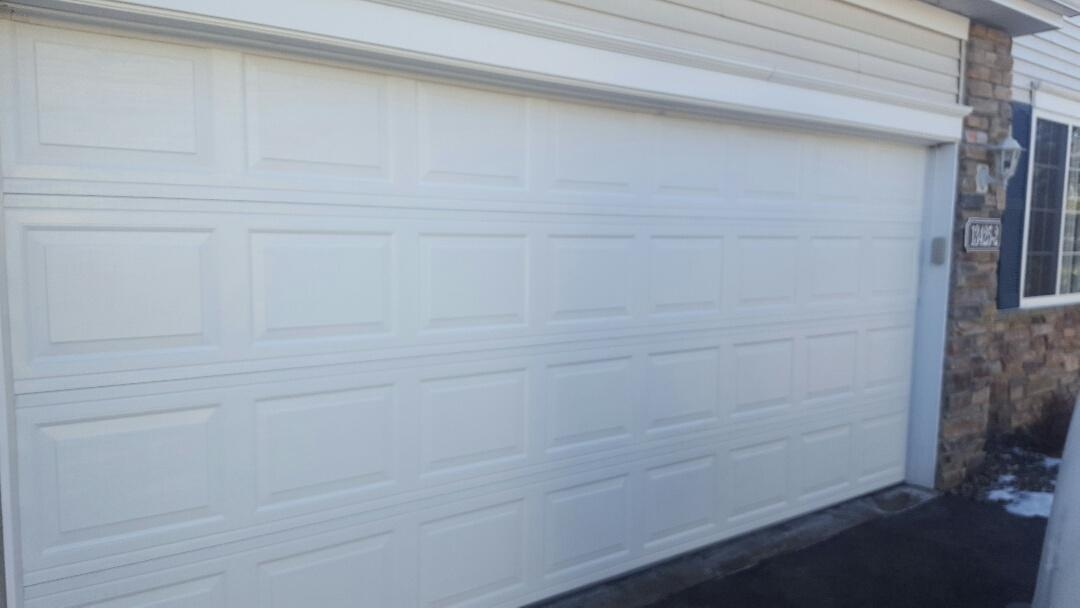 Hugo, MN - Jeremy installed 16 by 7 garage door