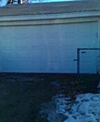 Brooklyn Center, MN - Garage door replacement
