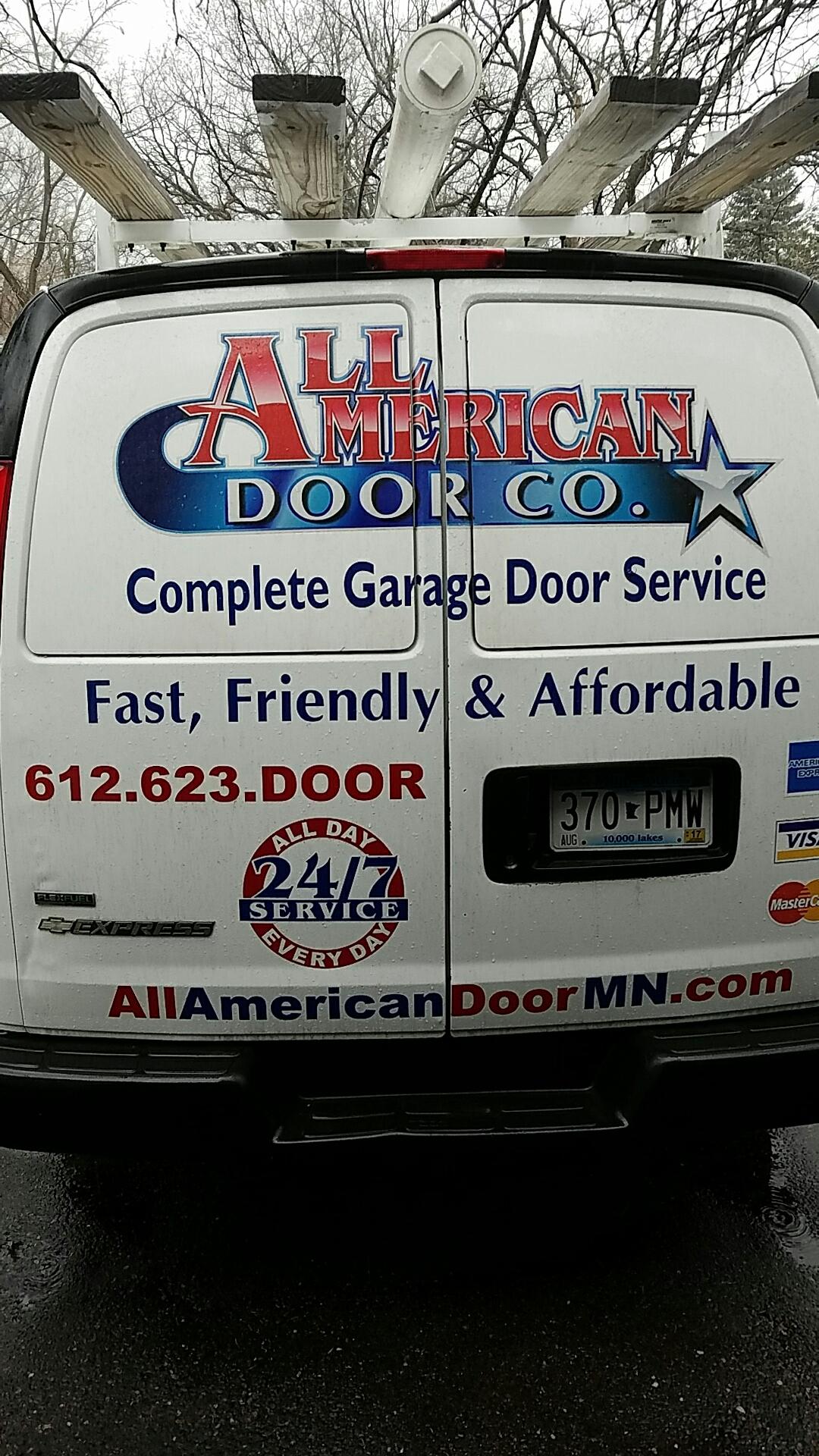 Blaine, MN - Did a garage door tune up