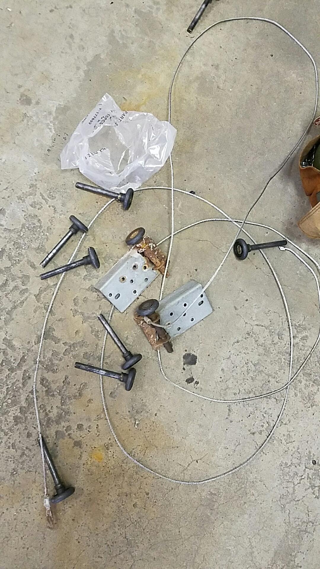Rosemount, MN - Replaced garage door cables and rollers