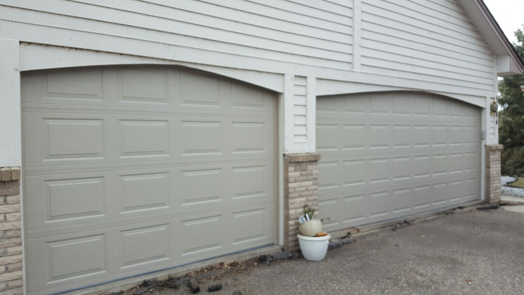 Excelsior, MN - Jeremy installed 16 by 7 and 9 by 7 garage door and opener