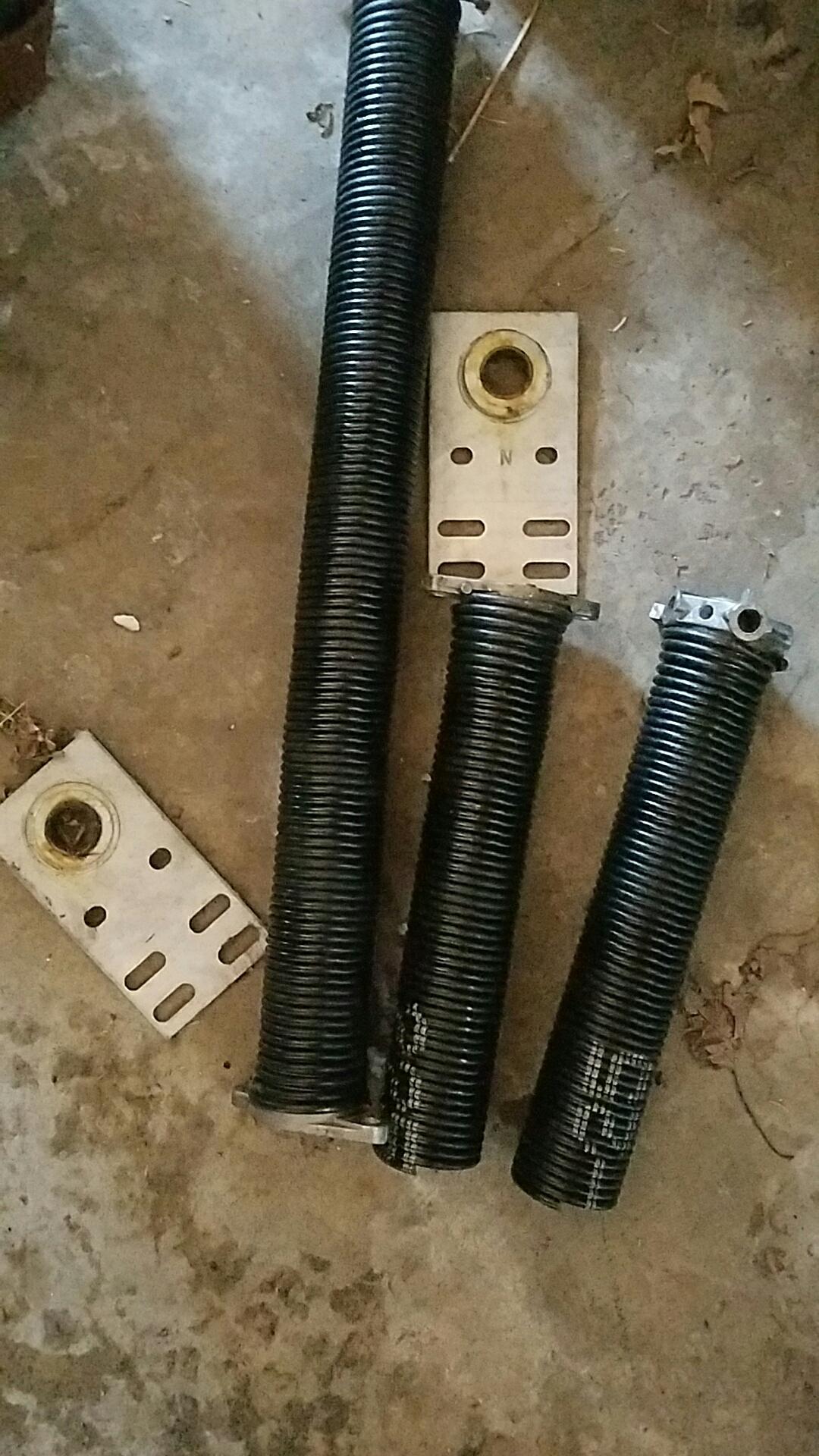 Mendota Heights, MN - Replaced garage door Springs and end bearings