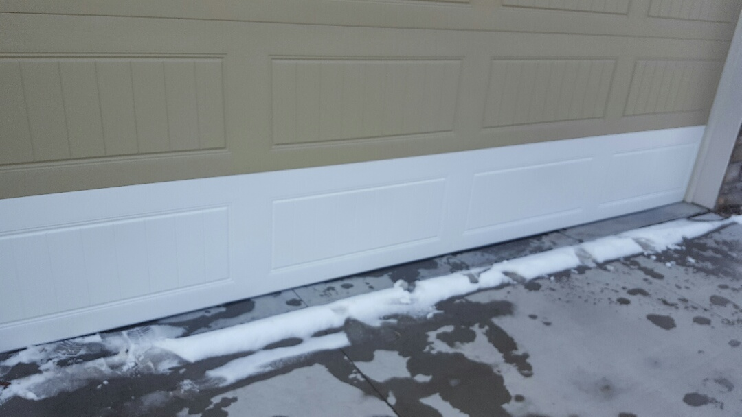 Plymouth, MN - Jeremy installed new panel for garage door