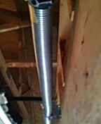 Fridley, MN - One pair of garage door torsion springs install