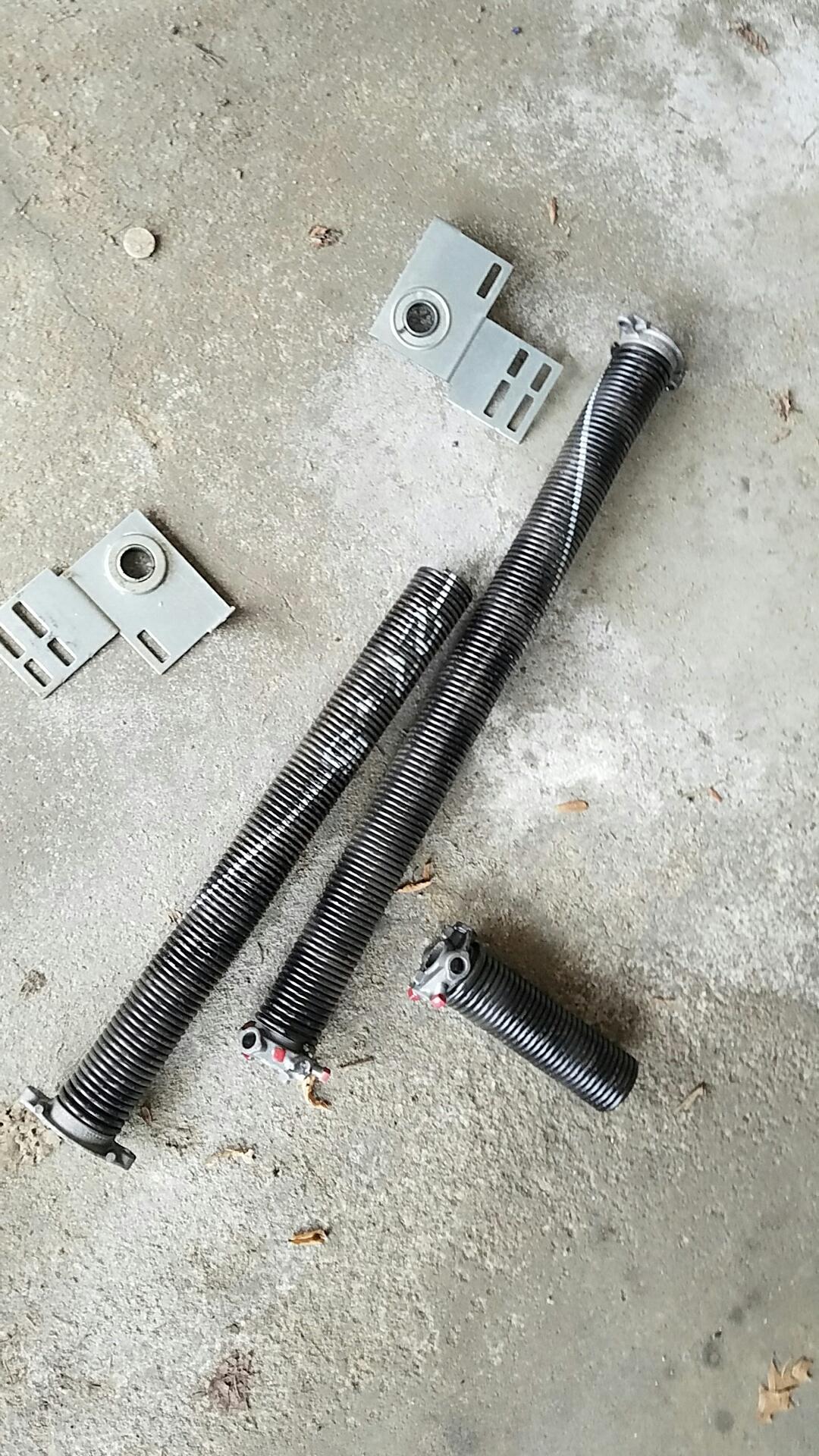 Minnetonka, MN - Replaced garage door Springs and end bearings