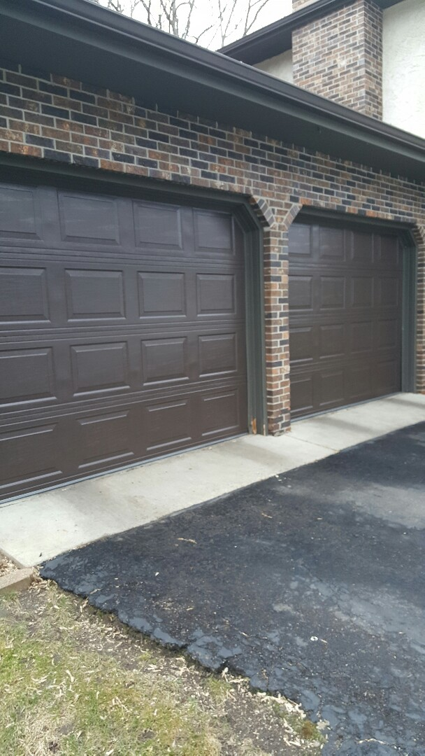 Bloomington, MN - Rory installed a garage door and motor in Bloomington,  MN.