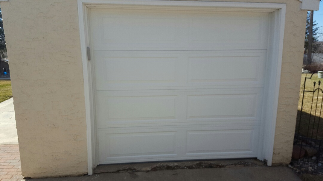 Saint Paul, MN - Jeremy installed 8 by 7 garage door and opener