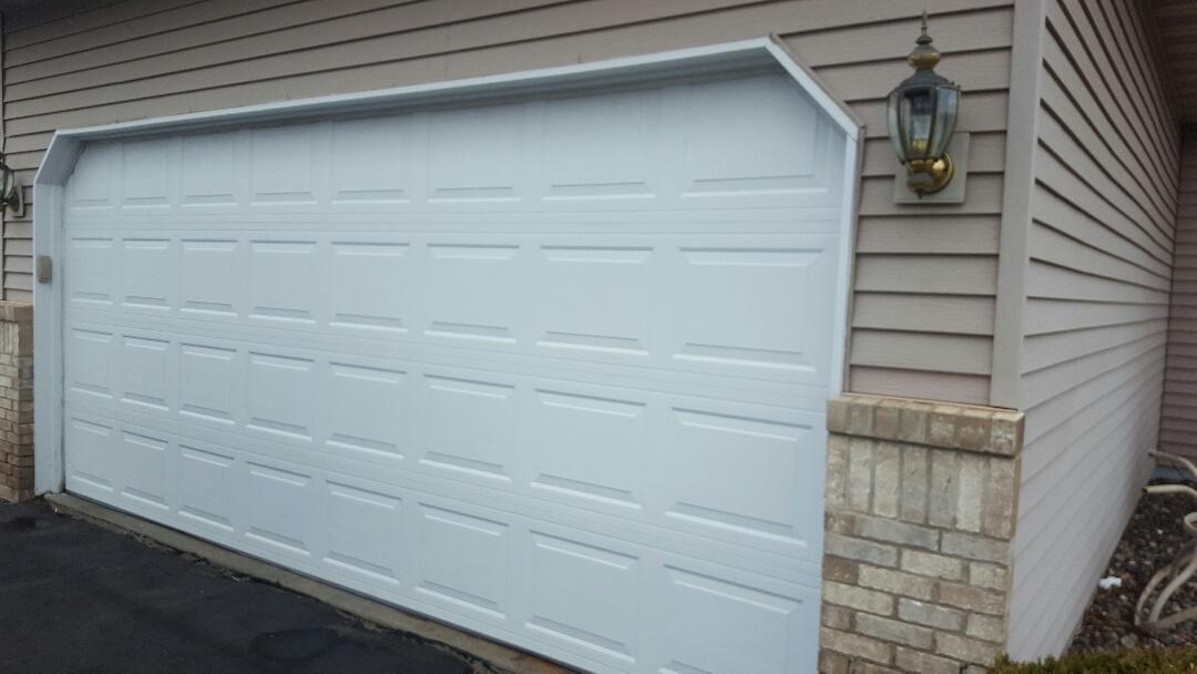 Woodbury, MN - Jeremy installed garage door