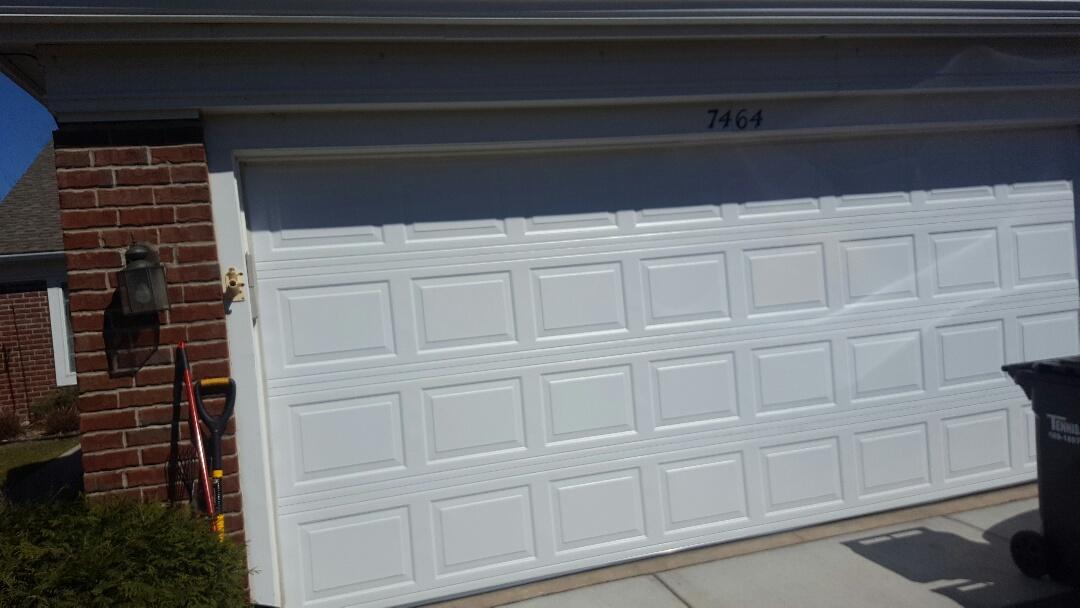 Cottage Grove, MN - Jeremy installed 16 by 7 garage door