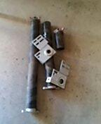Farmington, MN - Garage door service. Replace torsion springs and end bearings.