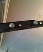 Apple Valley, MN - Garage door service, opener arm missing bolt