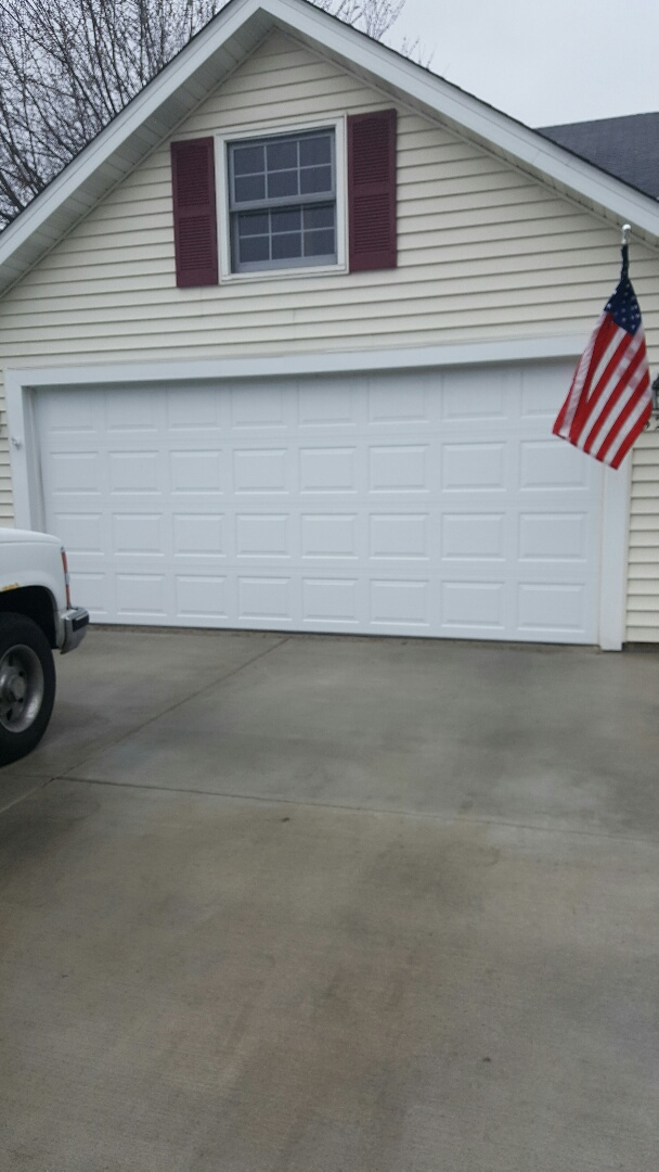 Eagan, MN - Rory installed a garage door and motor in Eagan, MN