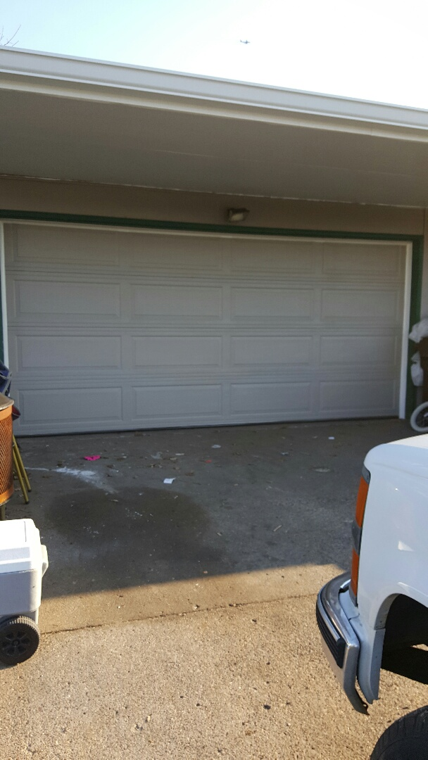 Cottage Grove, MN - Rory installed a garage door in Cottage Grove, MN