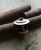 Prior Lake, MN - Garage door service replace torsion springs and sprocket assembly